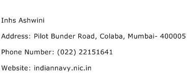 Inhs Ashwini Address Contact Number