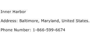 Inner Harbor Address Contact Number