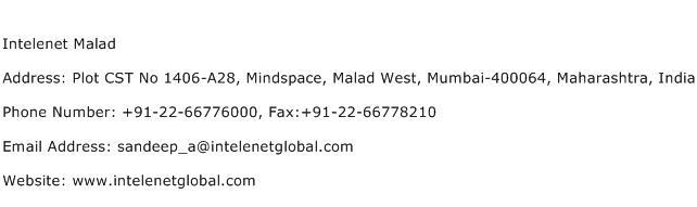Intelenet Malad Address Contact Number
