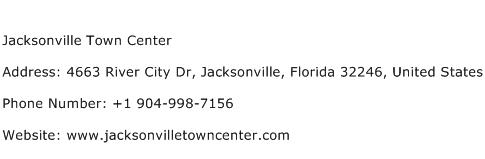 Jacksonville Town Center Address Contact Number