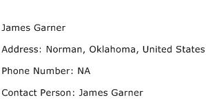 James Garner Address Contact Number