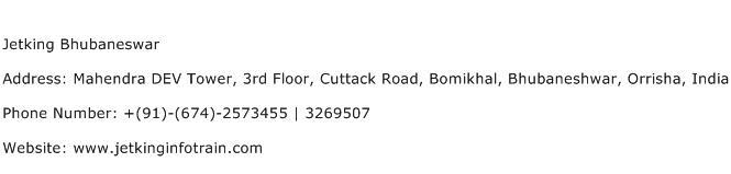 Jetking Bhubaneswar Address Contact Number