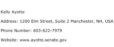 Kelly Ayotte Address Contact Number