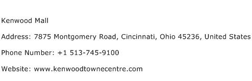 Kenwood Mall Address Contact Number