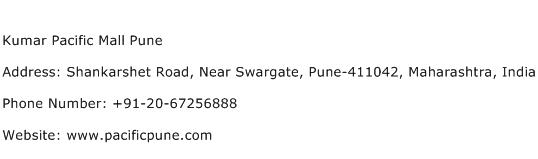 Kumar Pacific Mall Pune Address Contact Number