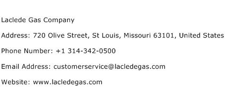 Laclede Gas Company Address Contact Number Of Laclede Gas Company
