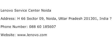 Lenovo Service Center Noida Address Contact Number
