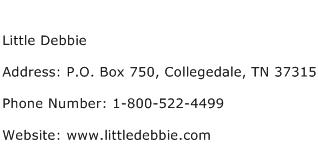 Little Debbie Address Contact Number