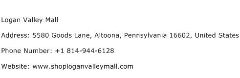 Logan Valley Mall Address Contact Number