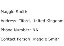 Maggie Smith Address Contact Number