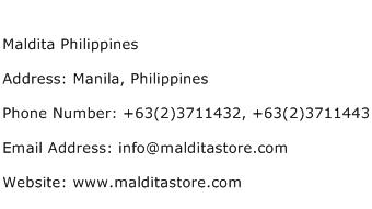 Maldita Philippines Address Contact Number