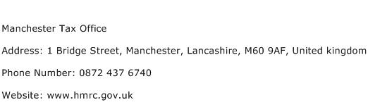 Manchester Tax Office Address Contact Number