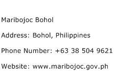 Maribojoc Bohol Address Contact Number