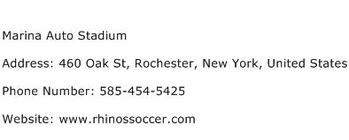 Marina Auto Stadium Address Contact Number