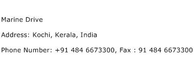 Marine Drive Address Contact Number