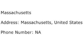 Massachusetts Address Contact Number