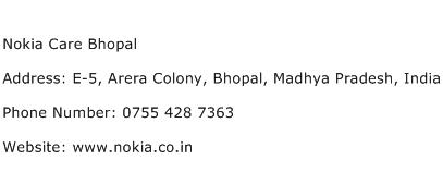 Nokia Care Bhopal Address Contact Number