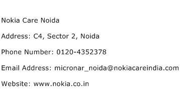 Nokia Care Noida Address Contact Number