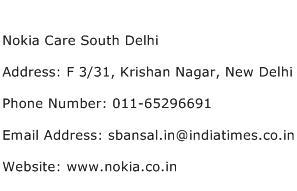 Nokia Care South Delhi Address Contact Number