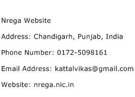 Nrega Website Address Contact Number