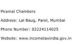 Piramal Chambers Address Contact Number