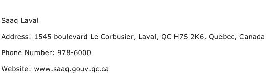 Saaq Laval Address Contact Number