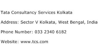 Tata Consultancy Services Kolkata Address Contact Number