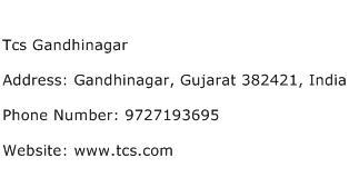 Tcs Gandhinagar Address Contact Number