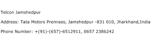Telcon Jamshedpur Address Contact Number