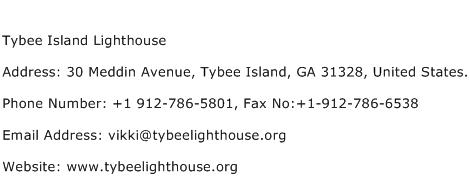 Tybee Island Lighthouse Address Contact Number