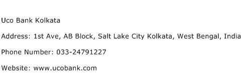 Uco Bank Kolkata Address Contact Number