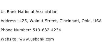 Us Bank National Association Address Contact Number