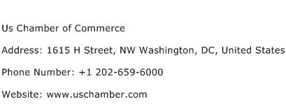 Us Chamber of Commerce Address Contact Number
