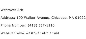 Westover Arb Address Contact Number